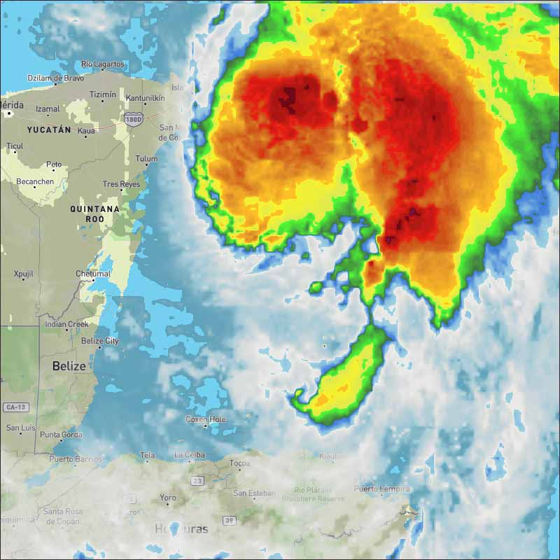 Caribbean Weather Map Forecast.Belize Weather Forecast October 8 2018 Ambergris Caye Belize