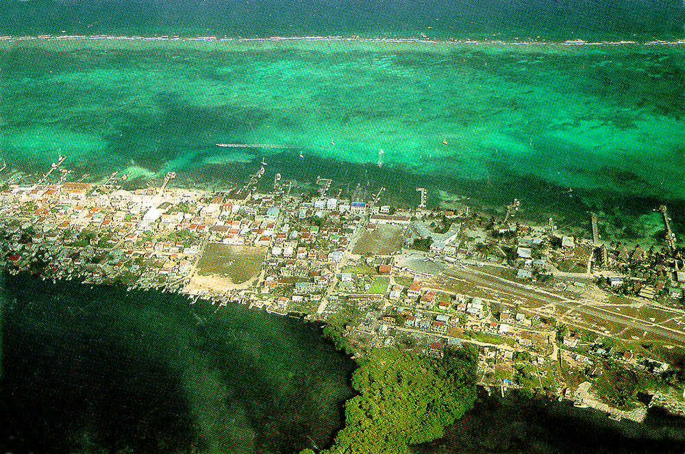 Air guide to trip from Belize City to San Pedro