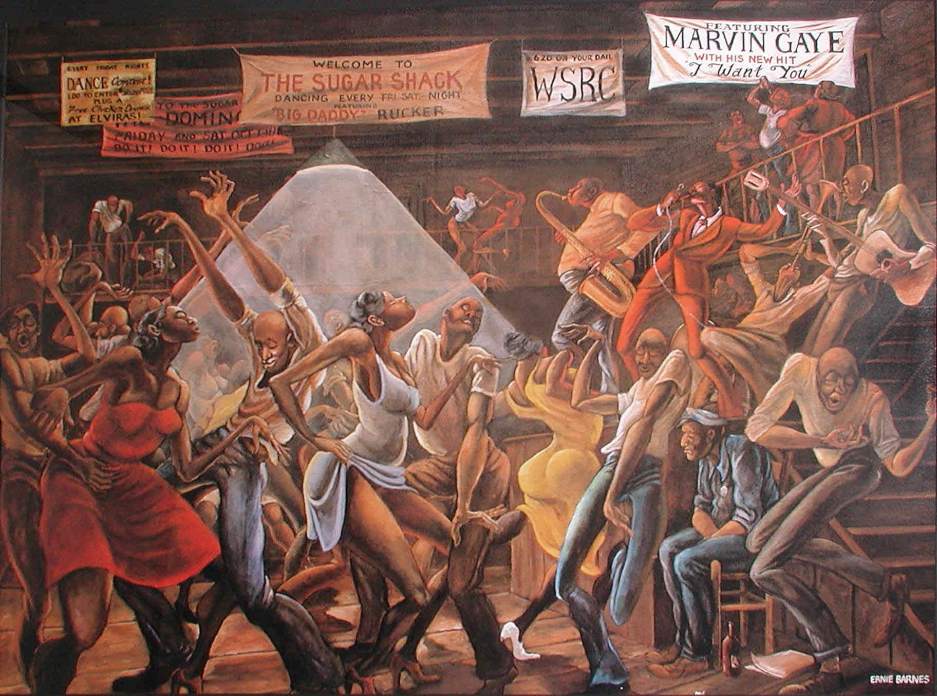 Renowned Painter Ernie Barnes Dies At Age 70 Ambergris
