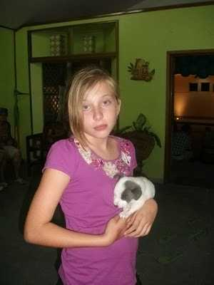 Morgan and puppy.JPG