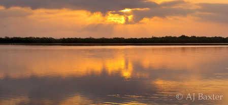 Sunrise over the Northern Lagoon, Crooked Tree