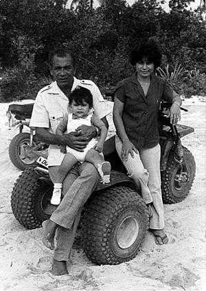 Paisano with his young family.jpg