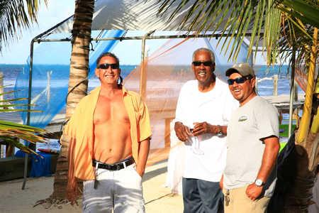 Cliff with Jules Escalante and Roberto Castillo. Photo Credit: Olivera Rusu