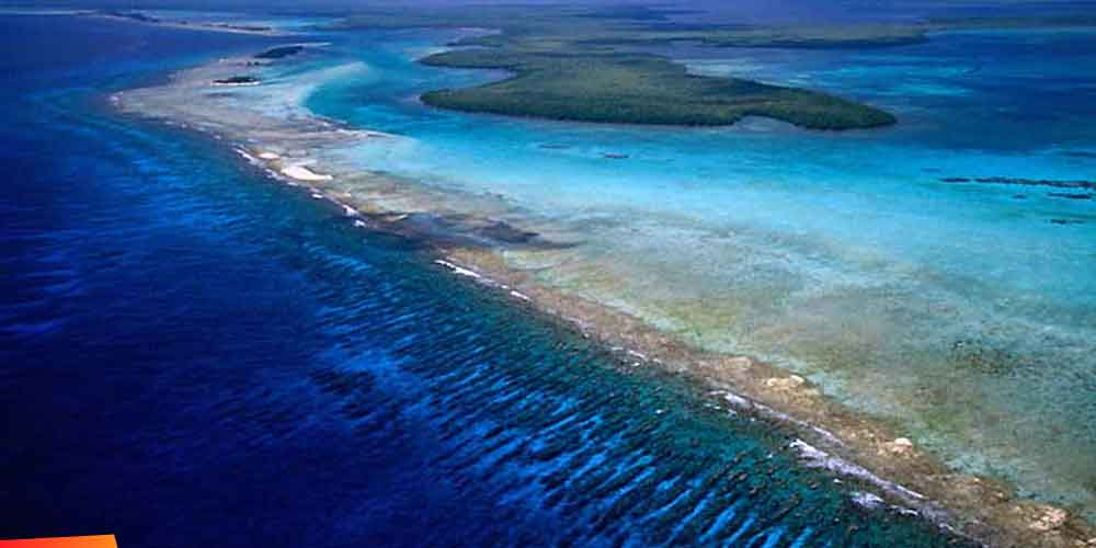 The Belize Barrier Reef Reserve System on Ambergris Caye ...