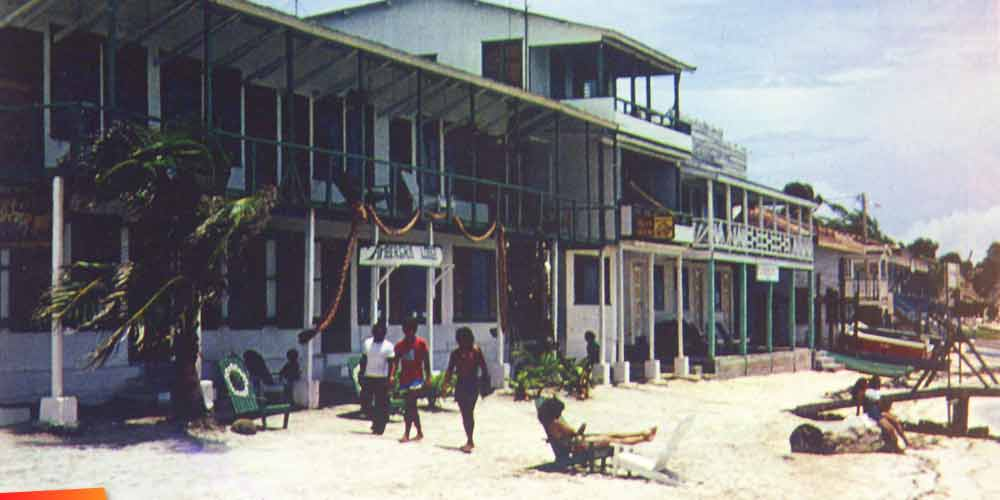 Ambergris Lodge and Lily's Hotel :: 1980's