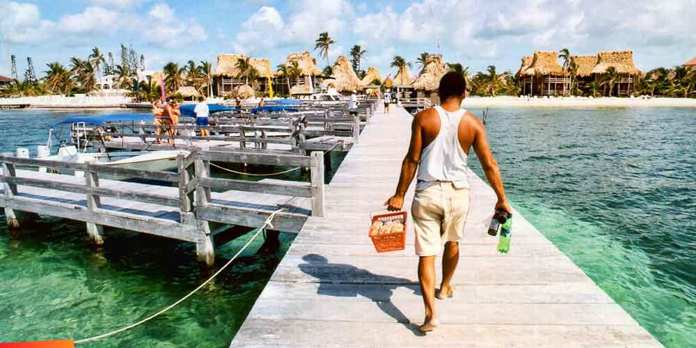 Ambergris caye island information san pedro belize for Fishing san pedro belize