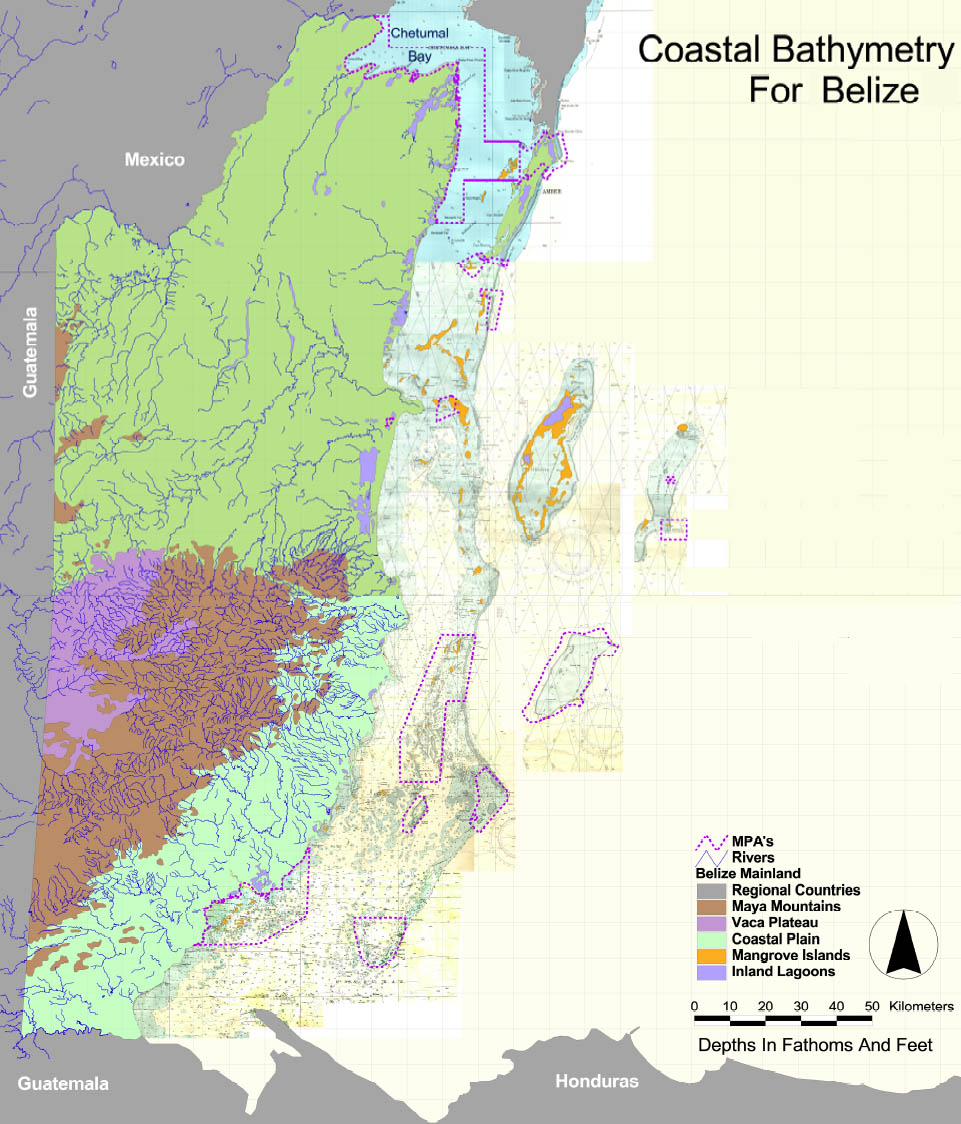 Belize Maps  Ambergris Caye  San Pedro  Caribbean And Central American Maps