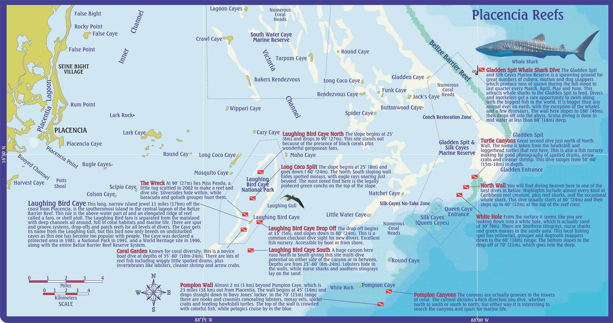 Belize Scuba Diving and Snorkeling on Ambergris Caye Caribbean – Belize Travel Map