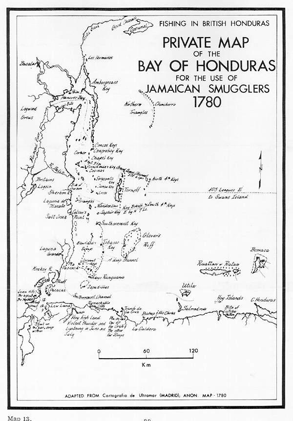 Geography of fishing in british honduras and adjacent for 13 fishing origin c