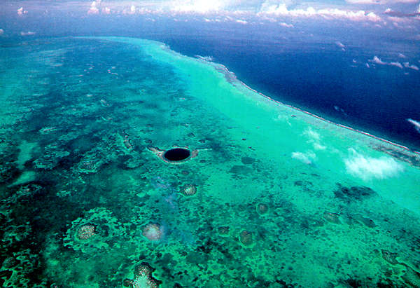 The Great Blue Hole at