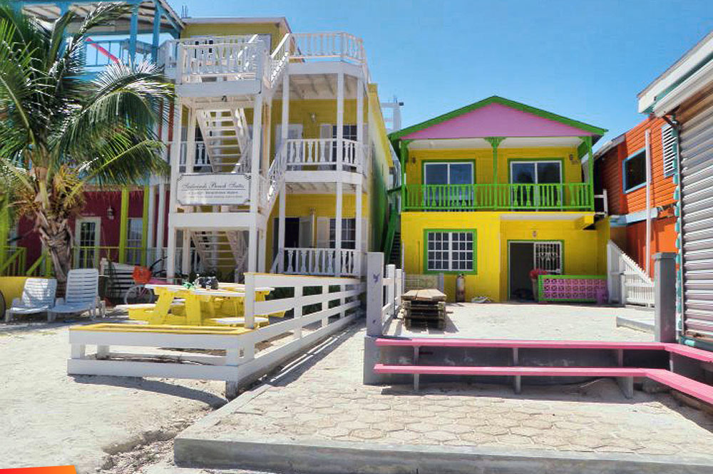 Kokomo Beach Hotel Sailwinds Suites Diane S House At Caye Caulker