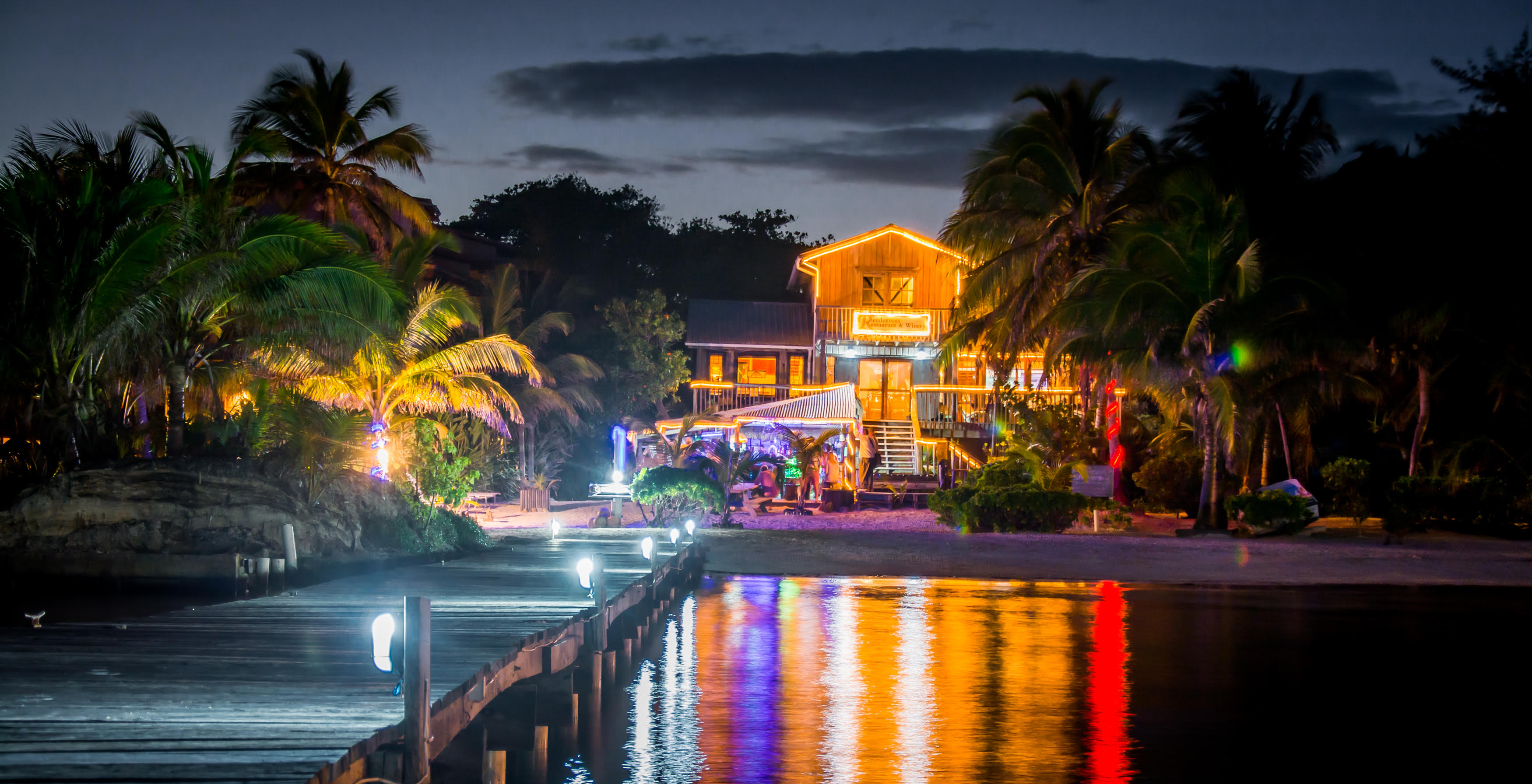 Rendezvous Bistro Winery Gourmet Fine Dining Thai French Ambergris Caye Belize