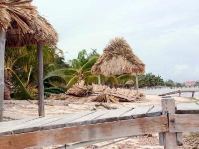 Belize dodges Hurricane Dean, Ambergris Caye Belize News